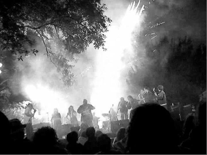 filmer la musique, Uzeste Musical - Cie Lubat, Beniat Achiary